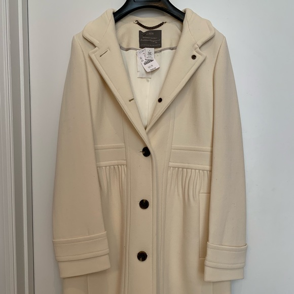 22b18c8980ca NEW J. Crew Doublecloth Coletta coat